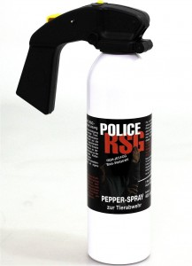 Pfefferspray Police RSG