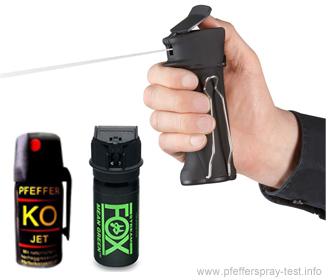 pfefferspray test